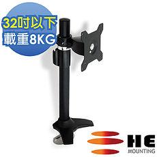 【HE】32吋以下LED/LCD鋁合金多功能插孔型支架(H011TI)