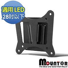 【Mountor】固定式嵌入型壁掛架/螢幕架-適用28吋以下LED(ML-1010)