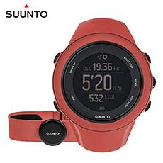 SUUNTO Ambit3 Sport HR進階多項目運動GPS腕錶-珊瑚紅