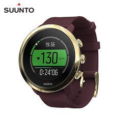 SUUNTO 3 Fitness Burgundy 保持健康與活力生活的【體適能】運動腕錶 (勃根地酒紅)