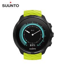SUUNTO 9 Lime 堅固強勁,超長電池續航力的多項目運動GPS腕錶【萊姆綠】