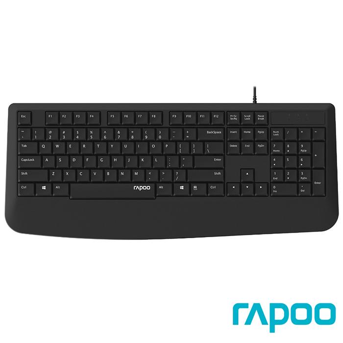Rapoo 雷柏NK1900 有線鍵盤
