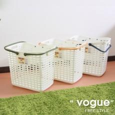家家好洗衣籃 2入(隨機色出貨)