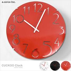 【a.cerco】高品質台灣機芯 數字曲線玻璃時鐘/掛鐘/LOFT風/設計/工業風(三色可選)