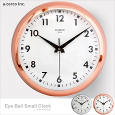 【a.cerco】Eyeball clock Large 大鐵鐘 (兩色可選)