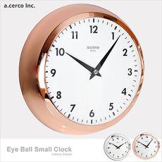 【a.cerco】高品質台灣機芯 Eye Ball 小鐵鐘