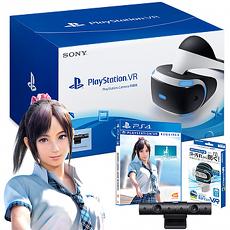 Playstation VR 頭戴裝置(攝影機組)+夏日課程:宮本光(中文版)+防汗頭套
