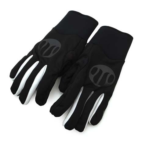 【SOGK】戰神防風手套-全指手套 單車 自行車 黑白