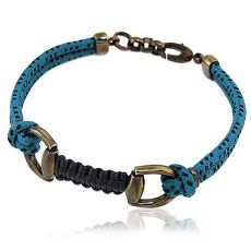 GUCCI 馬蹄環釦純銀墜飾手鍊/手環(特賣)