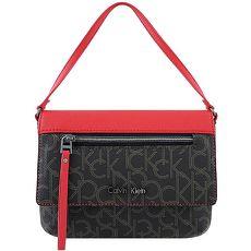 Calvin Klein LOGO PVC手提包-黑色(特賣)
