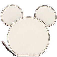 COACH Disney米奇造型零錢包-白色(特賣)