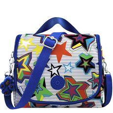 KIPLING 彩色星星圖樣手提斜背包