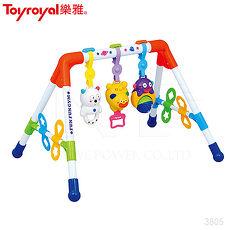 日本《樂雅 Toyroyal》音樂健力架【禮盒包裝】2m以上