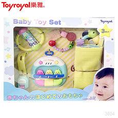 日本《樂雅 Toyroyal》寶寶成長玩具禮盒3m以上