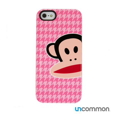 Paul Frank x Uncommon iPhone5 滑蓋保護殼- Zoom Julius HT Pink