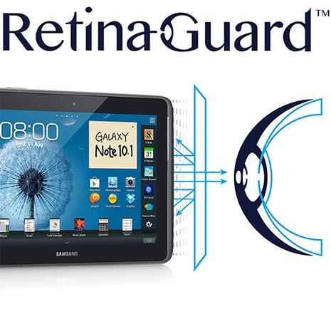 RetinaGuard視網盾 Samsung Galaxy note10.1 防藍光保護貼