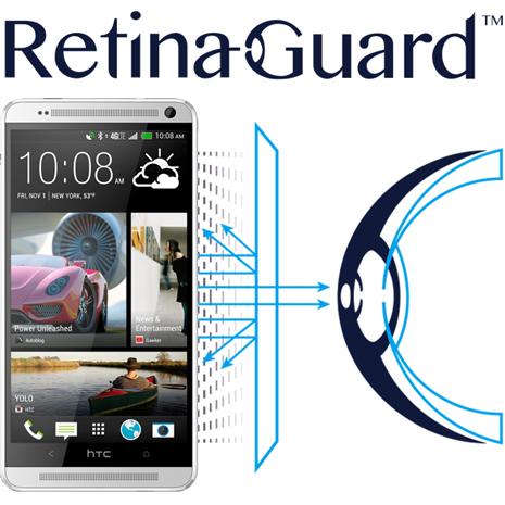 RetinaGuard視網盾 HTC ONE Max 防藍光保護貼