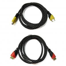 (活動)Bravo-u HDMI 1.4尼龍編織影音傳輸線紅