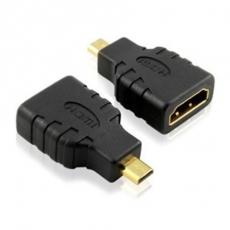 Bravo-u HDMI (母) to Micro HDMI (公) 24k鍍金轉接頭