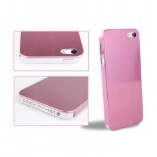 Bravo-u iPhone 5 鋁合金鏡面拉絲雙質感金屬保護殼(燦銀粉)