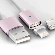 K-Line Apple Lightning 8pin 磁吸充電線