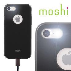 {原廠公司貨}Moshi iGlaze for iPhone 8 / 7 超薄時尚保護背殼(經典黑)