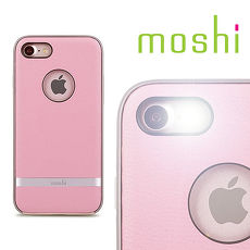 moshi Napa for iPhone 8 / 7 皮革雙料保護背殼