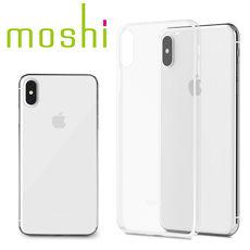 {原廠公司貨}Moshi SuperSkin iPhone XS Max 勁薄裸感保護背殼 - 晶透