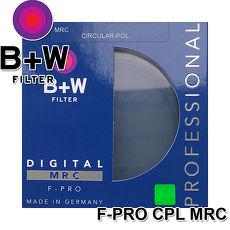 B+W F-Pro S03 CPL MRC 多層鍍鏌 環形偏光鏡 72mm(公司貨)【預購】