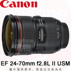 Canon EF 24-70mm f/2.8L II USM第二代標準變焦鏡頭(公司貨)贈B+W XSP MRC UV