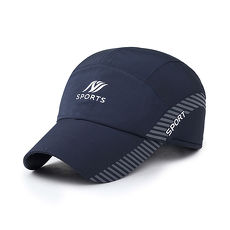 幸福揚邑》保暖防風吸濕排汗透氣速乾護耳棒球帽鴨舌帽-藍色