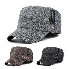 活力揚邑》護耳平頂帽保暖防風加厚刷毛棒球帽鴨舌帽