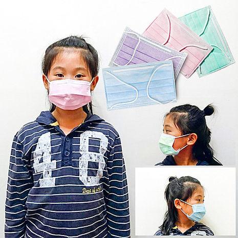 【台灣製造】微笑週記兒童口罩/ 三層式過濾防塵微粒口罩(15片/盒)