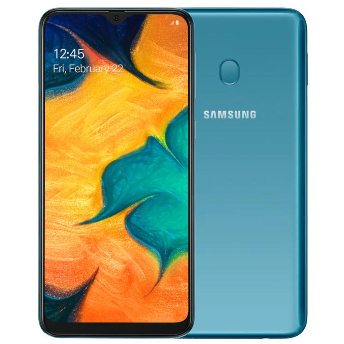 Samsung Galaxy A40S 6G/64G 6.4吋極限全螢幕八核心智慧手機-藍【認證福利品】