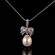 (預購)【雅紅珠寶】春暖花開天然珍珠墜子