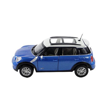 【KDW凱迪威】1:24 MINI COUNTRYMAN(藍色) 高仿真精裝合金模型車(授權)(651003)