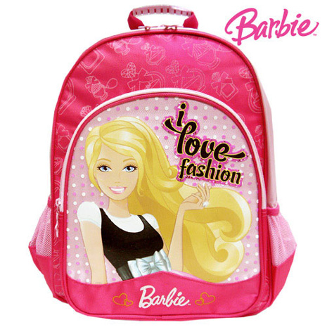 芭比Barbie 學生書包
