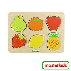 【Masterkidz】水果木塊拼圖