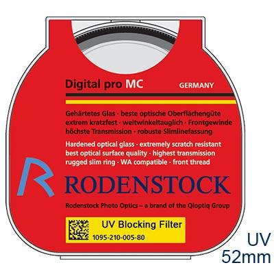 Rodenstock Pro UV保護鏡52mm【公司貨】