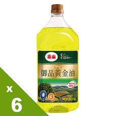 【泰山】御品黃金油2L*6入