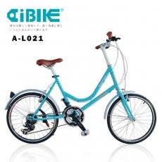 【AiBIKE】 SHIMANO 21速 451版 巴黎經典 低跨點小徑車歐風亮黑