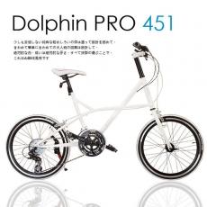 【AiBIKE】 SHIMANO 20吋27速 Dolphin PRO 小徑車 雪白限定版 升級451輪組 七夕情人款 小徑車珍珠白