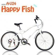 【AiBIKE】 SHIMANO 24吋21速 開心魚大徑車 加速輕鬆 爬坡順暢 大徑車