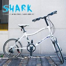 【AiBIKE】SHIMANO 20吋24速 鯊魚小徑車 二代進階款 小徑車