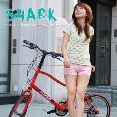 【AiBIKE】 SHIMANO 20吋21速 鯊魚小徑車 二代進階款 小徑車