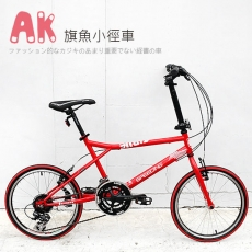 【AiBIKE】 SHIMANO 20吋24速 旗魚小徑車 小徑車