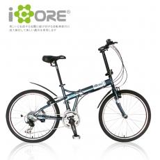 iCORE SHIMANO 24吋21速 奔騰摺疊車 2014新款上市