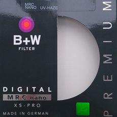 B+W 超薄奈米鍍膜UV-Haze保護鏡(49mm/公司貨)