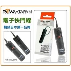 ROWA MINI電子快門線【RS-60E3】適用 CONTAX 645 N1 NX N SAMSUNG GX-1L GX-1S GX-10 GX-20