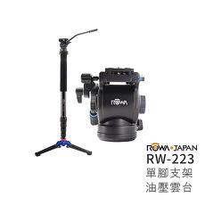 ROWA JAPAN RW-223 單腳支架油壓雲台
